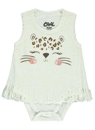 Civil Baby Civil Baby Kız Bebek Elbise 3-12 Ay Ekru Civil Baby Kız Bebek Elbise 3-12 Ay Ekru Ekru